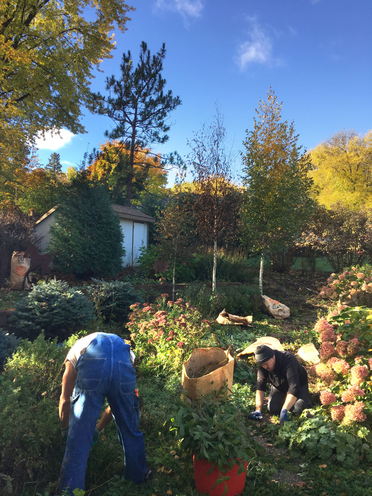 All season landscape maintenance services