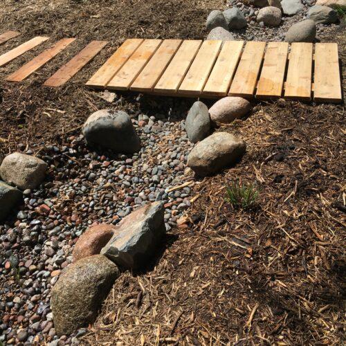 Simple dry creek